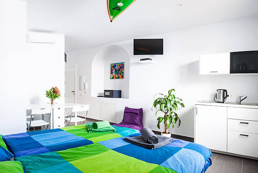 Cosy rooms for kitesurfer at KBC Tarifa