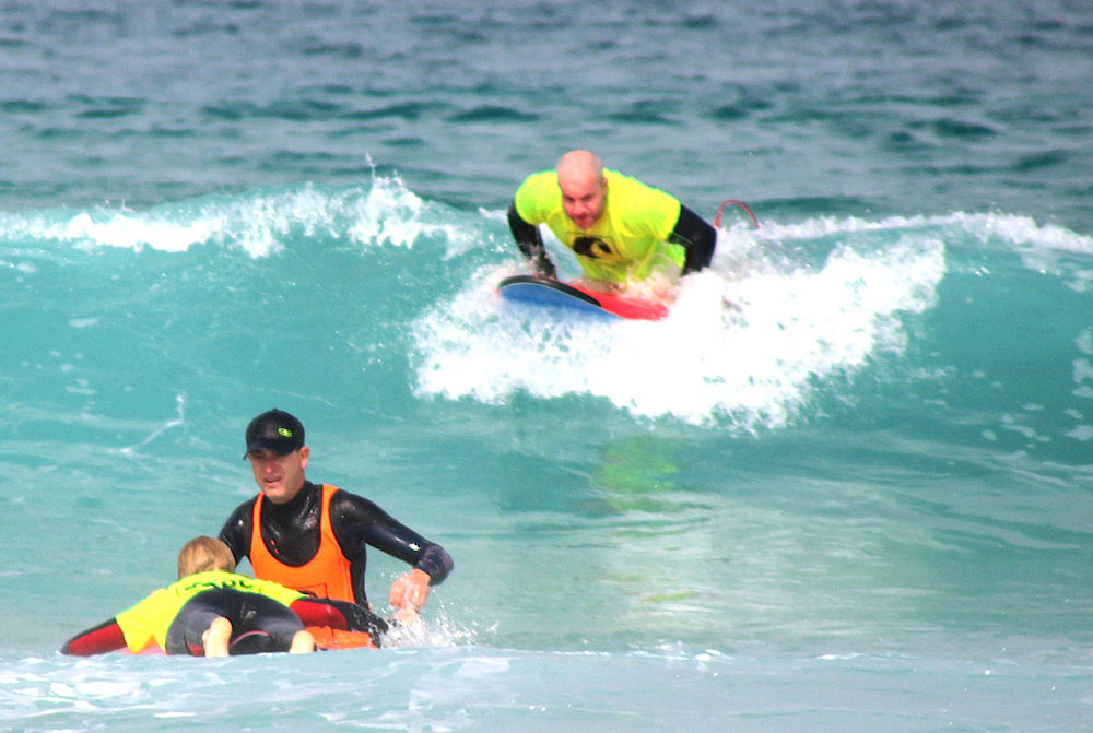 Learning to surf at KBC Tarifa