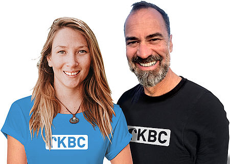[Translate to english:] KBC Holland Stationsleiter Anastasia und Michael - Boogie