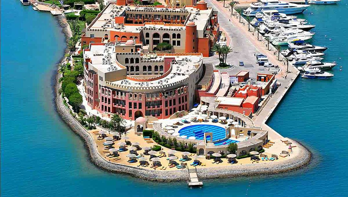 [Translate to english:] Hotel Ocean View El Gouna am Roten Meer