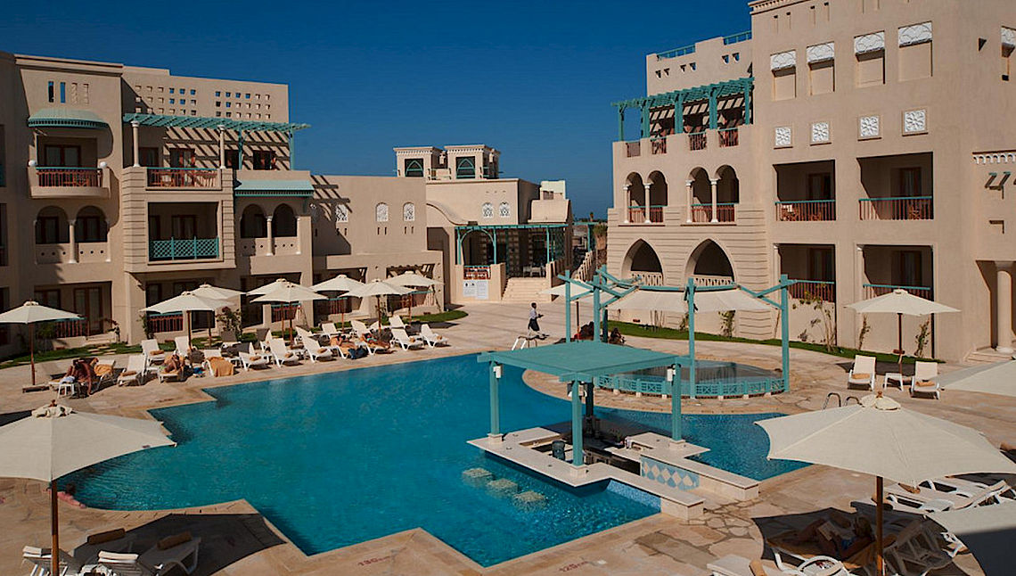 Hotel Mosaique in El Gouna am Roten Meer