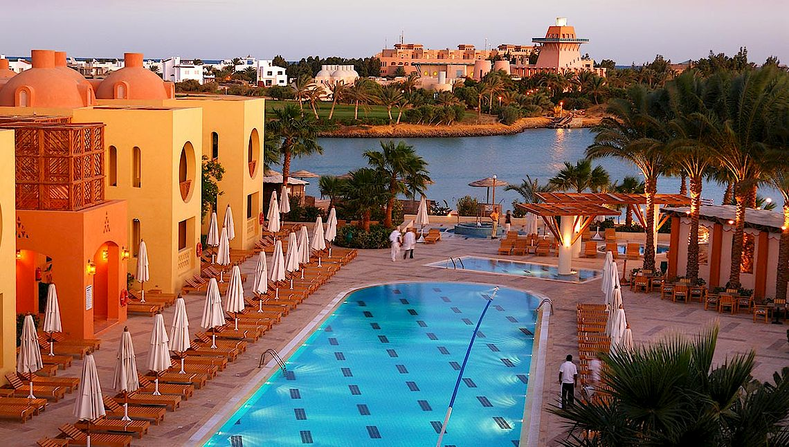 [Translate to english:] Hotel Gof Resort Steigenberger El Gouna am Roten Meer