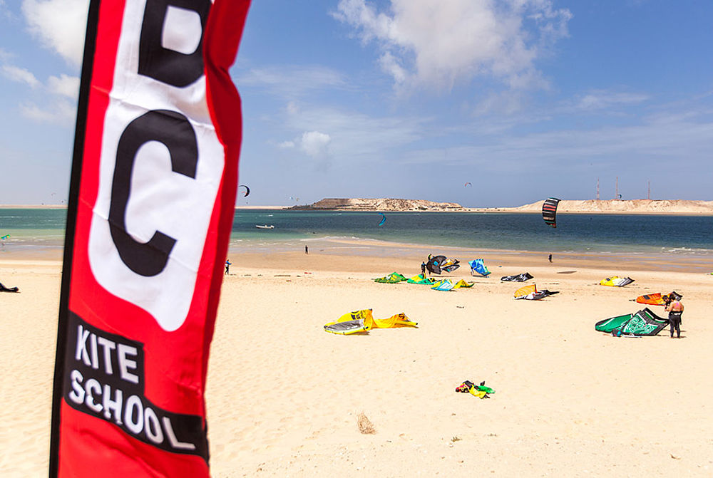 KBC Kitebeach am Kiteboarding Club Dakhla
