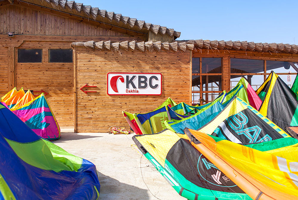 Kitecenter in Dakhla KBC