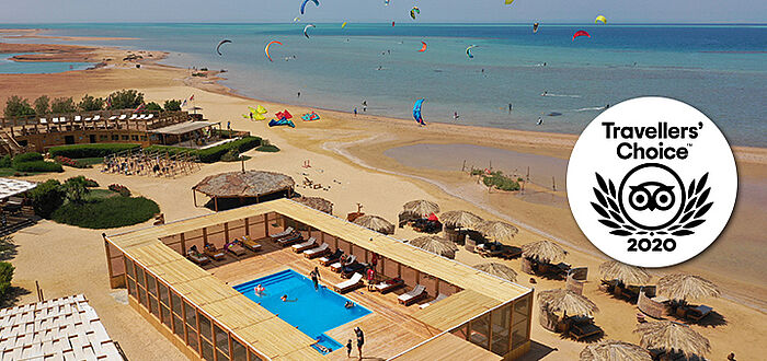 Kiteschool El Gouna Red Sea KBC pool Certificate of Excellence