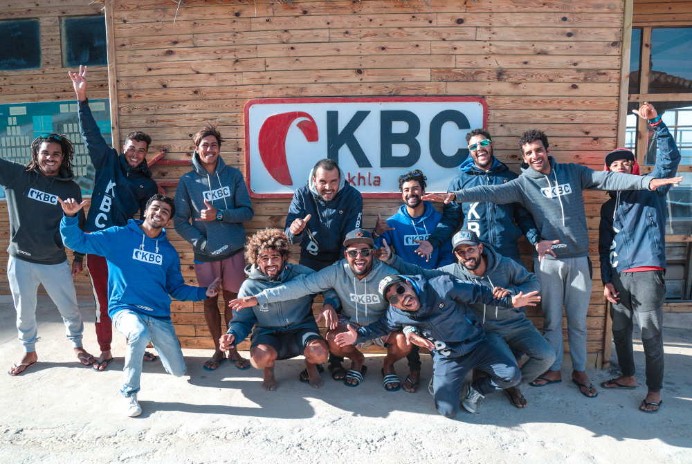 Kiteboarding Club Dakhla Team kitesurfing