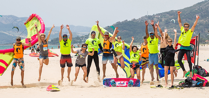 International kiteschool in Tarifa English speaking