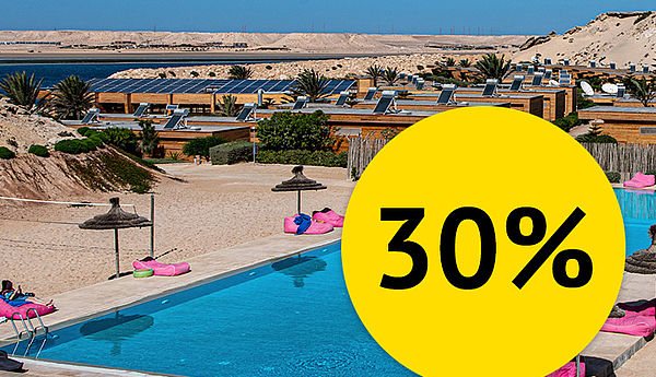 [Translate to english:] 30% Discount at Hotel Dakhla Club